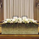 会場装花・メインテーブル例1
